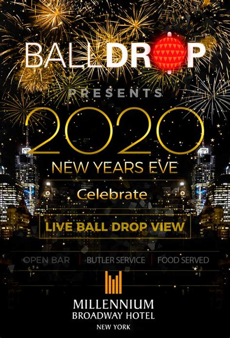 years nyc millennium eve hotel broadway york ball nye ages square times drop parties hotels 2021 recommend why street biltmore