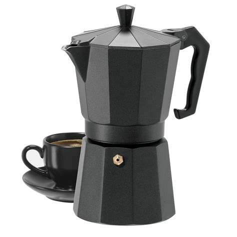 The best stovetop coffee maker is easy to use and very easy to separate for cleaning. OGGI Stovetop Espresso Maker - 6-Cup - Save 48%