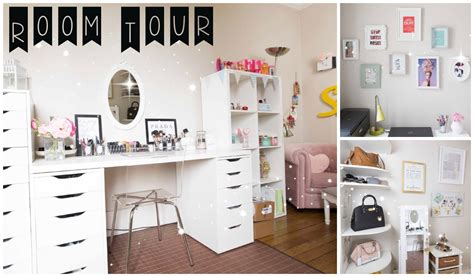 Chambre Idee Deco Diy Room Tour Rangement Makeup Table