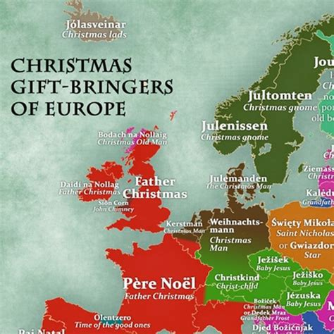 what is father christmas called in your country good