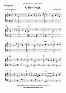 Free Sheet Music Scores  Free Easy Christmas Piano Sheet