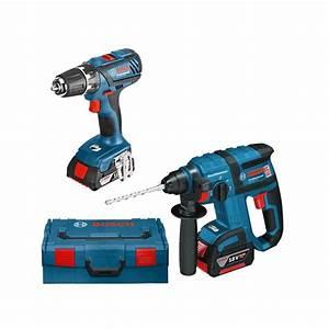 Bosch Pro 18v : kit bosch 2 outils 18 v l boxx gbh 18 v ec gsr 18 2 li ~ Carolinahurricanesstore.com Idées de Décoration