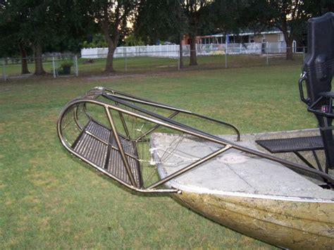 Airboat Grass Rake by Diy Grass Rakes Southern Airboat