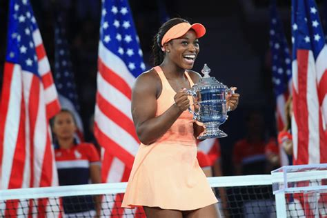 reacts to sloane stephens us open win ubitennis