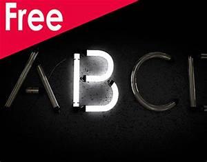 Free Neon Alphabet Download Cinema 4d on Behance