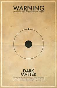 Dark Matter // Vintage Science Experiment Warning Poster ...