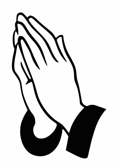 Clipart Prayer Hands Praying Clip Pray Christmas