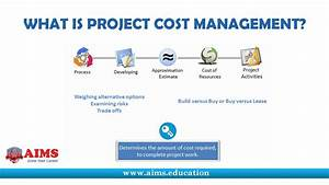 What Is Project Cost Management  Tools  Techniques And Processes For Pmp  U0026 Pmbok