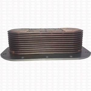 Oil Cooler  Detroit Diesel Series 60 Engine  Non