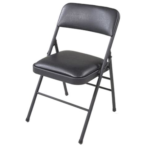 Plastic Folding Chairs Home Depot by Cosco Home And Office Vinyl Plastic Folding Chair Set Of