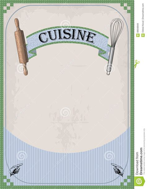 affiche cuisine facia illustrations vector stock images 100