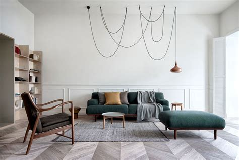 A Modern Scandinavian Inspired Apartment With Ingenius Features : Scandi Style Inspired 19th-century City House Design