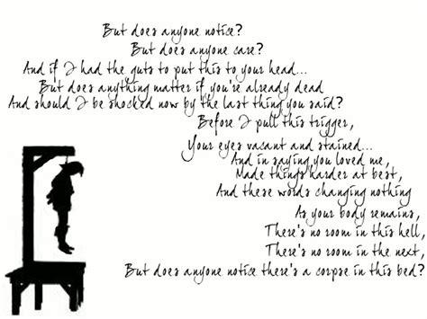 My Chemical Romance Lyric Art