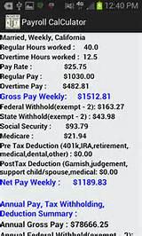 Payroll Checks: Payroll Tax Rate Calculator