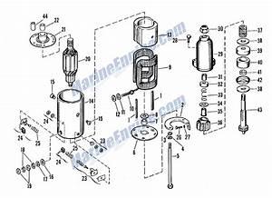 Evinrude Starter Motor  Delco