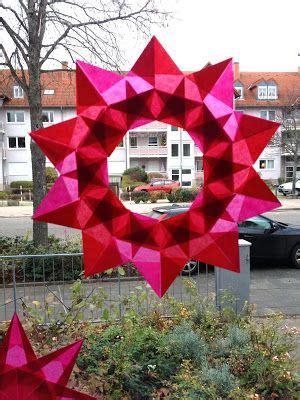 Fensterdeko Weihnachten Falten by Sewing Addicted Naehsucht Sterne Falten