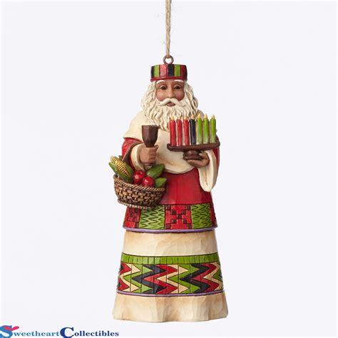 Jim Shore Halloween Disney by Jim Shore 4047790 African Santa Around The World Ornament