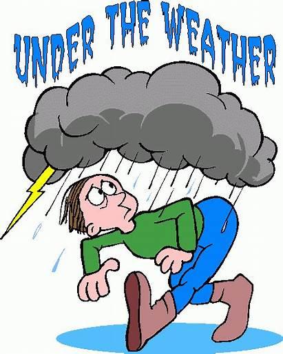 Weather Under Metaphor Clipart Clip Idiom Idioms