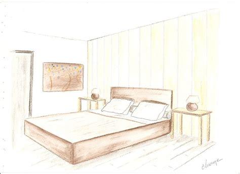 dessin en perspective d une chambre croquis chambre ambiance charme decor 39 in idées conseils