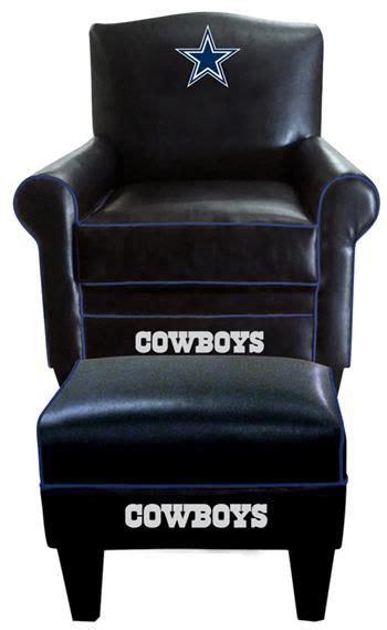 Dallas Cowboys Leather Chair