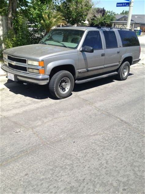 electric power steering 1999 chevrolet suburban 2500 windshield wipe control sell used chevy suburban 7 4 liter 2500 tan 4x4 in palmdale california united states