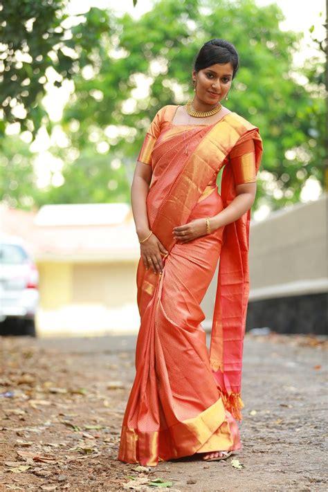 kanjipuram silk sareemanthrakodikerala bride kerala
