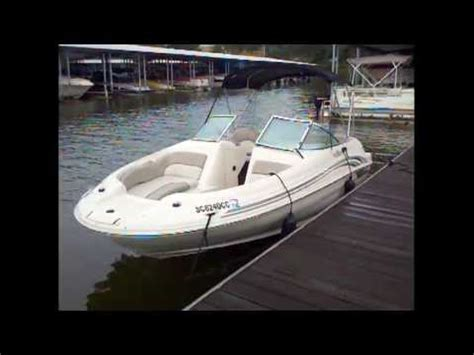 2002 sea 190 sundeck used deck boat for sale lake wylie sc nc