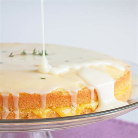 limoncello cake limoncello pound cake w meyer lemon curd filling goat cheese thyme and limoncello icing i