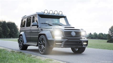 If you are going to get a g wagon it had better be a brabus! 2016 MANSORY GRONOS Black Edition based on Mercedes G63 AMG   Caricos.com