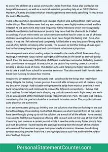 amcas personal statement sample stanford statement