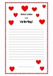 Vatertag Basteln Grundschule : arbeitsblatt brief schreiben vatertag ~ Frokenaadalensverden.com Haus und Dekorationen