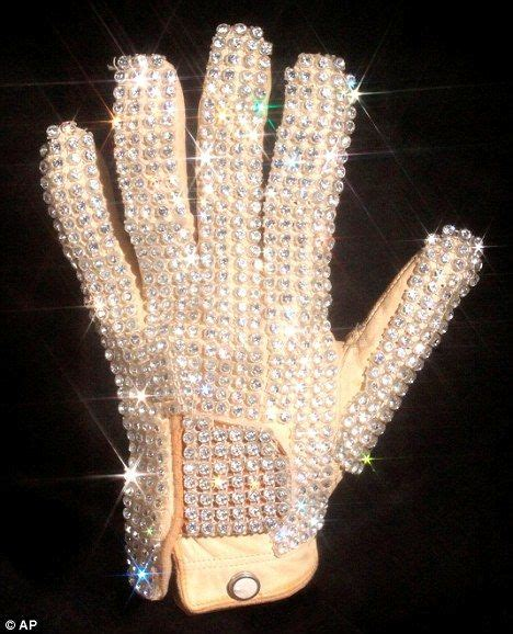 Bid It Just Bid It Michael Jackson S White Diamante Glove