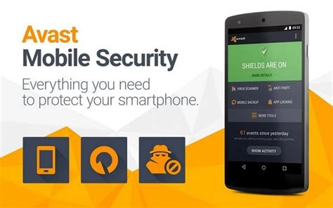 avast mobile security app for android app chilli 10 best free android antivirus mobile security apps 2017