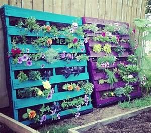 Comment Remplir Une Grande Jardinière : recycler une palette en jardini re pour le jardin ~ Melissatoandfro.com Idées de Décoration