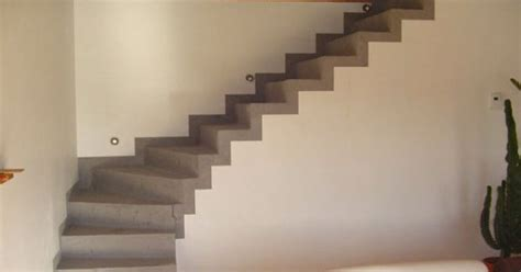 appliquer du b 233 ton cir 233 sur un escalier marie claire