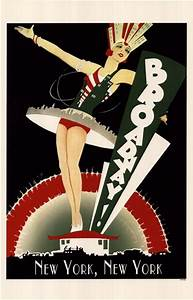Broadway ~ Fine-Art Print - Vintage Advertisements Art ...