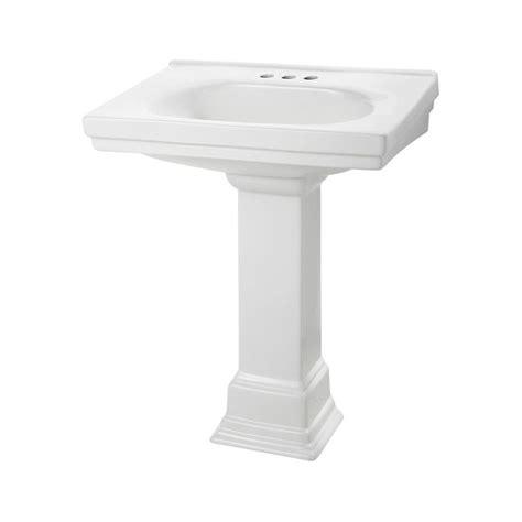 pedestal sink base foremost structure suite 20 5 80 in pedestal sink basin