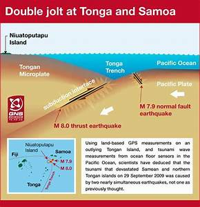 Last September's Tsunami Caused by Two Earthquakes