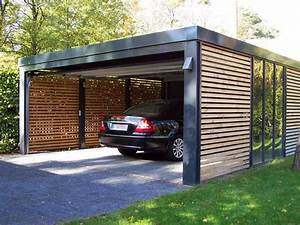 Carport Holz Modern : garage of carport de voor en nadelen op een rijtje woonmooi ~ Markanthonyermac.com Haus und Dekorationen