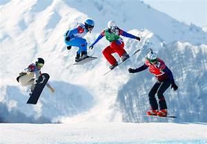 Women Compete in Snowboard Cross at Sochi - NBC News