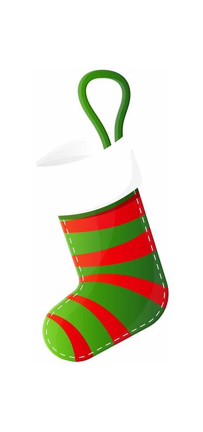 Stocking Christmas Clip Clipart Transparent Yopriceville