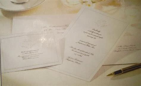 wedding invitations    wilton complete formal