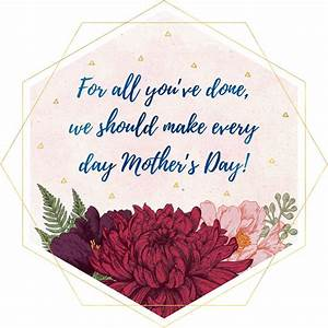 Unique Messages For Happy Mothers Day 2018 From Daughter ...