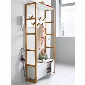 vestiaire compo la redoute interieurs deco scandinave With porte d entrée pvc avec la redoute tapis salle de bain