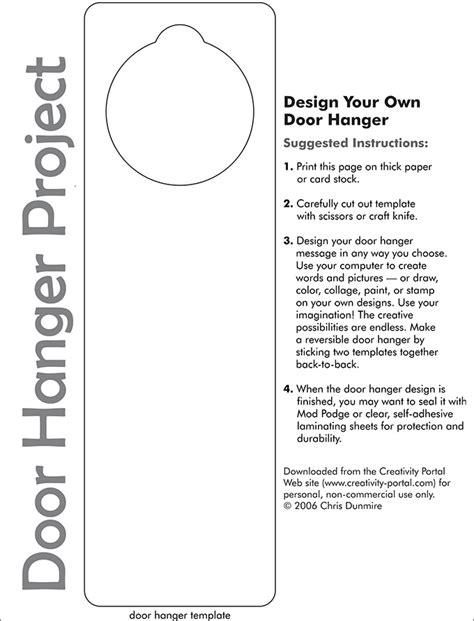 door hanger template  premium templates
