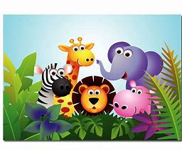 Image result for jungle theme animated