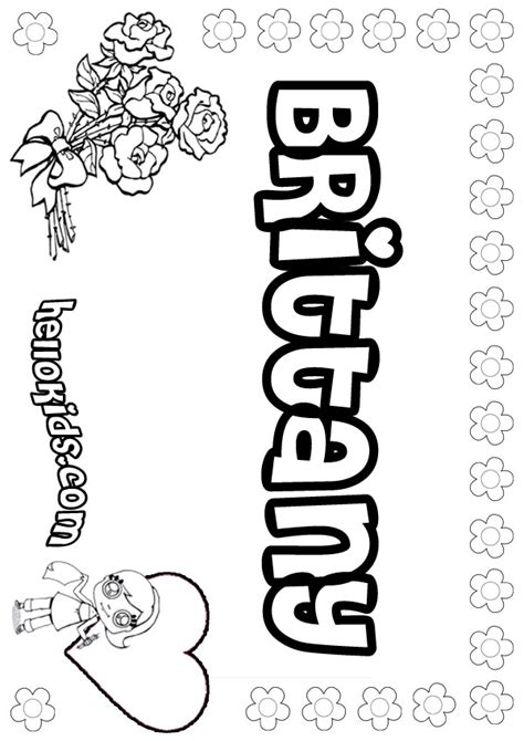 brittany coloring pages hellokidscom