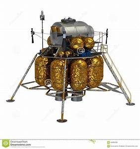 Lunar Lander Stock Illustration - Image: 45885038