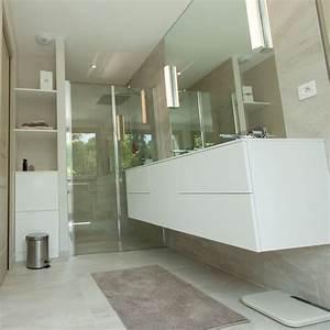 Meuble Salle De Bain Bois Blanc : meuble salle de bain blanc pur ~ Teatrodelosmanantiales.com Idées de Décoration