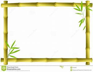 Bamboo clipart bamboo frame - Pencil and in color bamboo ...